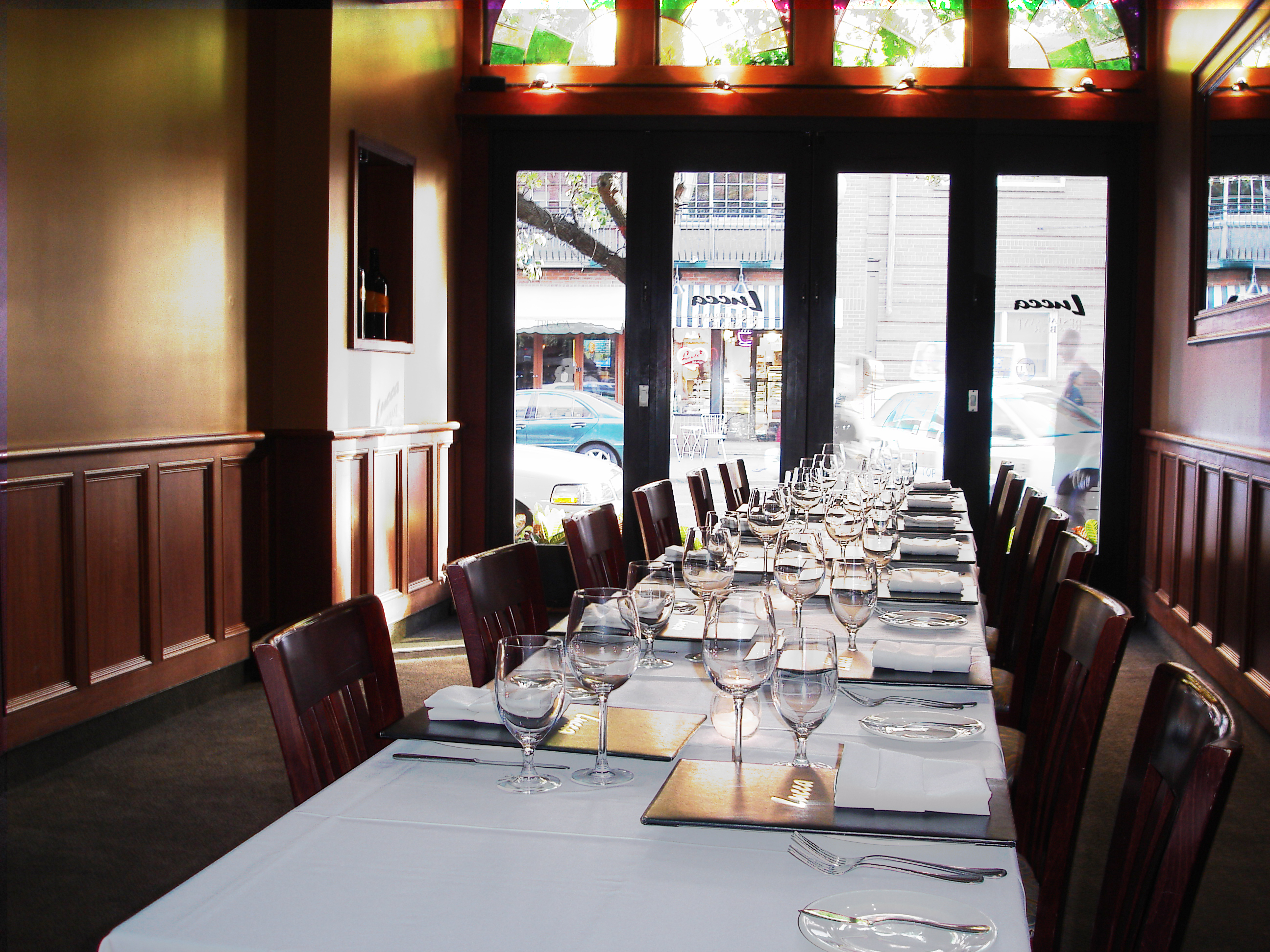 Boston Private Dining Rooms private events
